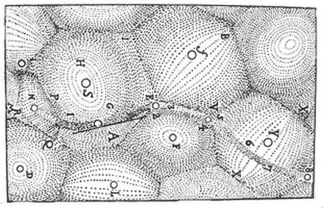 Вихревая структура космоса по Декарту