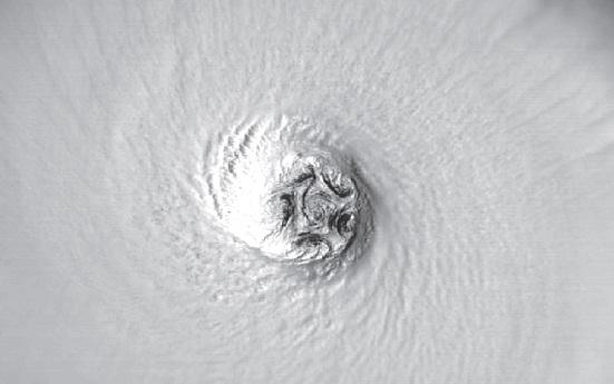 """Мезовихри урагана """"Изабель"""""""