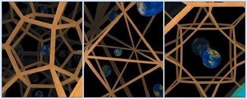 Вселенные из многогранников