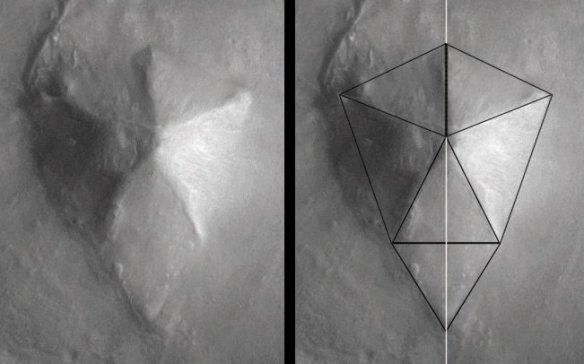Особенности формы пятигранной пирамиды D&M