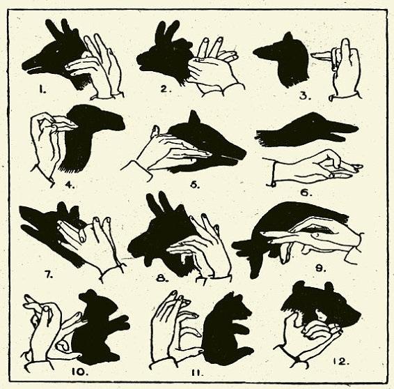 hands-shadows